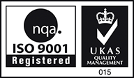 NQA Iso 9001 Registered - UKAS Quality Management
