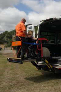 Koller Responds to Wheelchair Lift Market  Increase with the Launch of FALL STOP