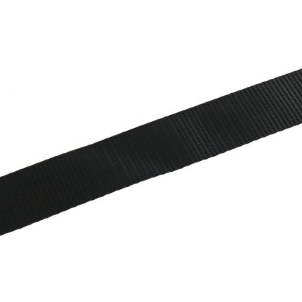 44mm Black Webbing (10m)